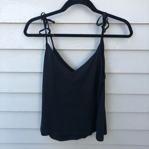 Abercrombie tank top with tie straps